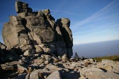 Skały góra Obrazy Royalty Free