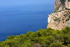 Skały i morze Fotografia Royalty Free