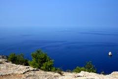 Skały i morze Obrazy Stock