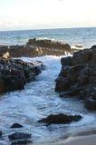 Skały i woda Fotografia Royalty Free