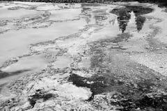 Skały i woda Zdjęcie Royalty Free