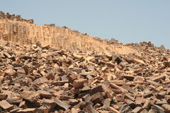 Skały w Carpenteria, pustynia negew Obrazy Stock
