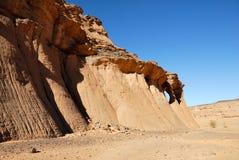 Skały w pustyni, sahara, Libia Zdjęcia Stock