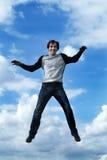 skacz chłopca Obrazy Stock
