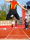 skacz długo Fotografia Royalty Free