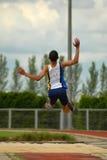 skacz długo Zdjęcie Royalty Free