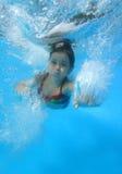 skacz do wody Zdjęcia Royalty Free