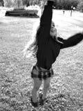 skacz radość Fotografia Stock