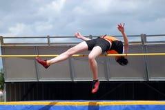 skacz wysoki Zdjęcie Stock