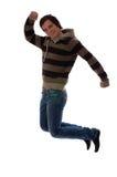 Skacze dla radości Zdjęcie Stock