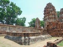 Skada av templet royaltyfri bild