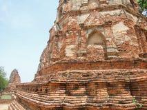 Skada av templet arkivbilder