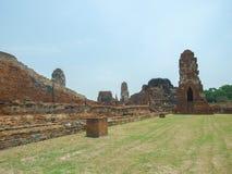 Skada av templet arkivfoto