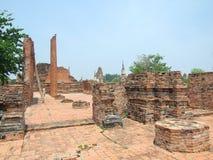 Skada av templet arkivbild