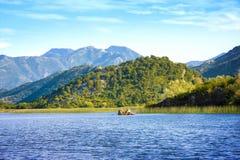 Skadar湖国家公园,黑山 库存图片