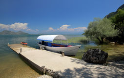 Skadar湖国家公园,黑山 免版税图库摄影