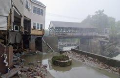 skadar den orkanirene quecheen Fotografering för Bildbyråer