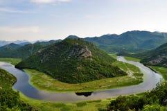 Skadar Jeziorny park narodowy - Montenegro obrazy royalty free