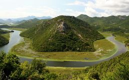 Skadar lake Stock Image