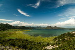 skadar lake Royaltyfri Bild