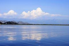 skadar lake Royaltyfri Fotografi