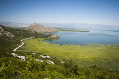 Skadar lake landscape Royalty Free Stock Photo