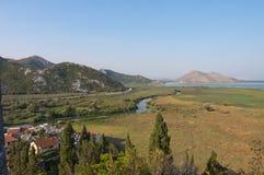 Skadar lake in Montenegro royalty free stock photos