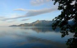 Skadar Lake in Montenegro royalty free stock photo
