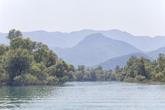 Skadar lake, Montenegro Royalty Free Stock Photography