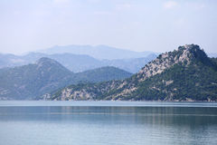 Skadar lake, Montenegro Royalty Free Stock Photo