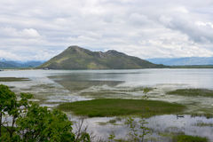 Skadar Lake, Montenegro. The mountain at the Skadar Lake, Montenegro Stock Photos