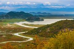 Skadar Lake - Montenegro Stock Image
