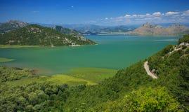 Skadar lake national park Royalty Free Stock Image
