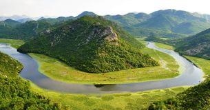 Skadar Lake National park - Montenegro. Photo of Skadar Lake National park - Montenegro - July 2010 royalty free stock images