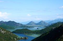 Skadar See, Montenegro stockbilder