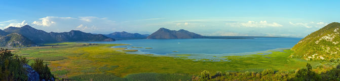 Skadar湖- Skadarsko jezero 图库摄影
