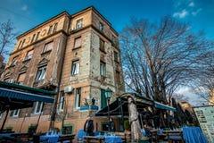 Skadarlija Belgrado Royalty-vrije Stock Foto
