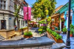 Skadarska街道 免版税库存照片