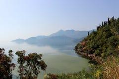 Skadarsko jezero Arkivfoton