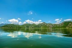 Skadarsko Jezero, Crna Gora, uma reserva natural imagem de stock royalty free