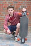 Skadeboarder foto de archivo