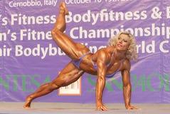 Skadi Frei, German Bodybuilder Stock Photos