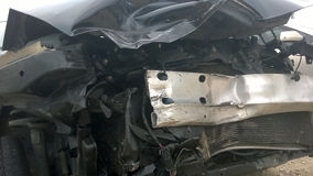 skadlig bil Fotografering för Bildbyråer