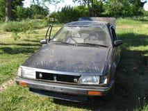 skadlig bil arkivbilder