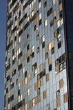 skadlig byggnad royaltyfri fotografi