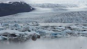 Skaftafell Glacier Iceland royalty free stock photos