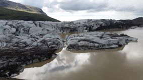 Skaftafell Glacier Iceland Stock Photos