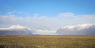 Skaftafell Glacier Icleand Stock Photos
