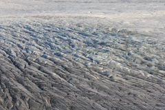 Skaftafell Glacier. Texture, south Iceland. Ice, ice flow, from the Vatnajokull ice cap Royalty Free Stock Images