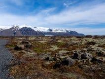 Skaftafell nationalpark Fotografering för Bildbyråer